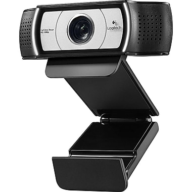 Logitech – Caméra web Pro Webcam HD ultra grand angle 960-001070