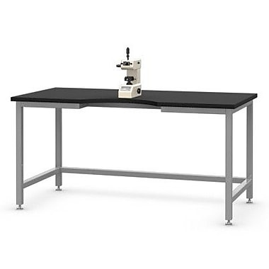SteelSentry Epoxy Microscope Table; 36'' H x 48'' W x 30'' D