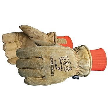 Superior Glove, Works Ltd. - Gants de congélation en cuir fendu avec manchette en tricot, 3 paires/paquet (678AFTLK)