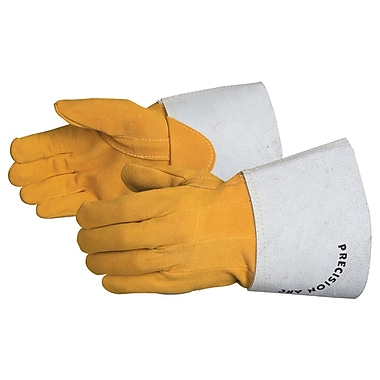 Superior Glove, Works Ltd. Glove, Welder Tig EnduraSplit Deerskin, Medium, 6 Pairs/Pack (335DTIGM)