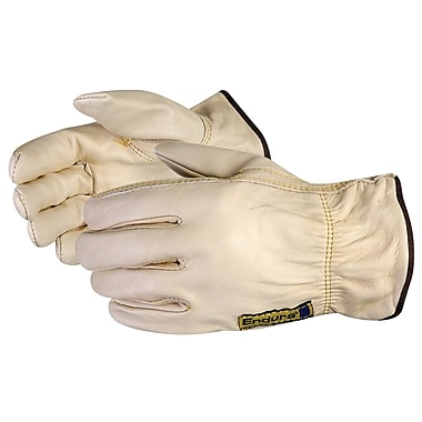 Superior Glove, Works Ltd. Gloves Goatskin Drivers w/Key Thumb, Size L, 6 Pairs/Pack (378GKTA-L)