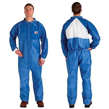3M – Combinaison de protection contre les particules et les éclaboussures, blanc/bleu, 2T grand, 10/paquet (4530-2XL)