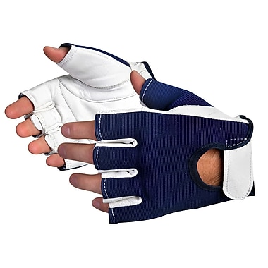 Superior Glove, Works Ltd. Glove, Anti-Vibration, Large Half Finger 3 Pairs/Pack (VIBGHFV/L)