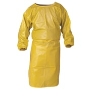"Kimberly-Clark Smock, CheMical Spray Protection 5"" Yellow, 12/Pack (9830)"