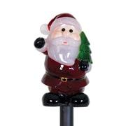 Exhart Solar Santa Claus Plant Stake Christmas Decoration