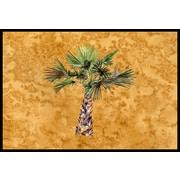 Caroline's Treasures Palm Tree Doormat; 2' x 3'