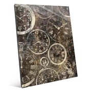 Click Wall Art 'Many Hands of Time' Graphic Art; 24'' H x 20'' W x 1'' D