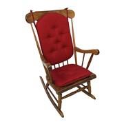 Klear Vu Twill Rocking Chair Cushion; Sedona