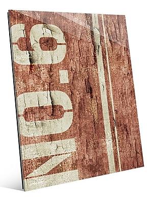 Click Wall Art 'District No. 6' Graphic Art; 20'' H x 16'' W x 1'' D