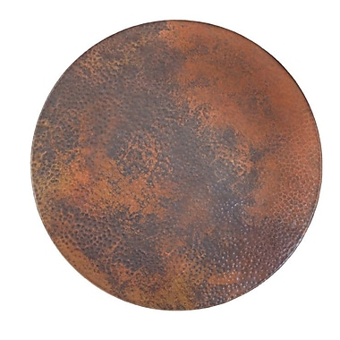 Native Trails Lazy Susan; Tempered Copper
