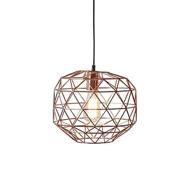 Light Society Caffrey 1-Light Geometric Pendant
