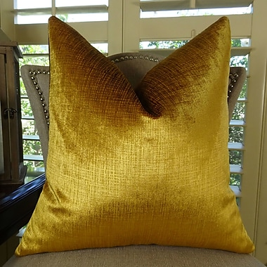 Plutus Brands Lumiere Double Sided Throw Pillow; 16'' H x 16'' W