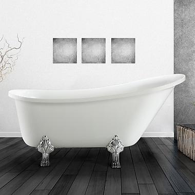 Vinnova Jacqueline 63'' x 28'' Soaking Bathtub