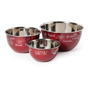 McSunley 3-Piece Stainless Steel Bowl Set