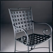 Woodard Sheffield Dining Arm Chair; Tuscan Sand