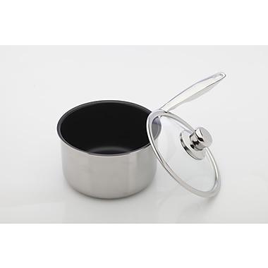 Swiss Diamond Prestige Saucepan w/ Lid; 2.9 Qt