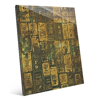 Click Wall Art 'Aged Signs' Graphic Art; 14'' H x 11'' W x 1'' D