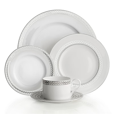 Auratic Binche 5 Piece Place Setting, Service for 1 WYF078278281212