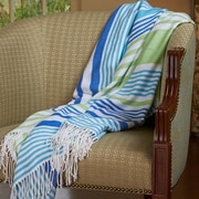 Better Living Woven Luxe Striped Throw