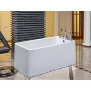 Aquatica PureScape 55'' x 30'' Soaking Bathtub