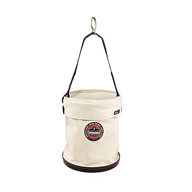 Ergodyne Canvas/Plastic Bottom Bucket w/ Top and D-rings