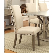Infini Furnishings Athens Side Chair (Set of 2)