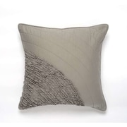 Darzzi Water Cotton Pillow Cover; Gray