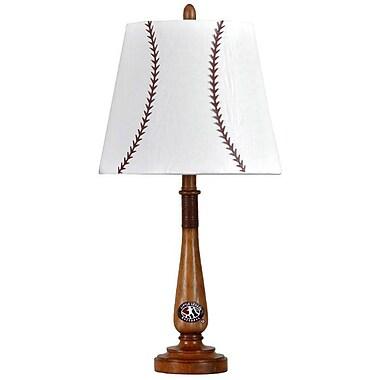 Style Craft Baseball 22.75'' H Table Lamp w/ Empire Shade
