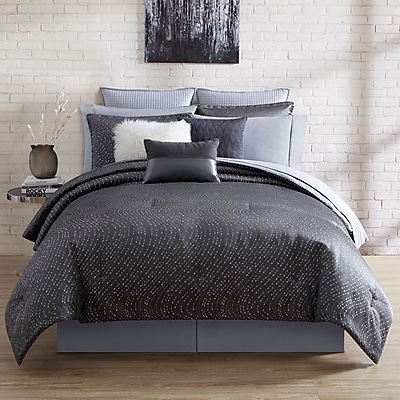 Nikki Chu Alyn 4 Piece Comforter Set; King