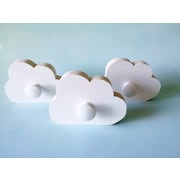 Maple Shade Kids Cloud Wall Hook; White