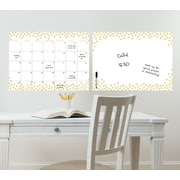 WallPops! Confetti Monthly Calendar and Message Board Combo Wall Decal