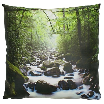 Oriental Furniture River of LifeThrow Pillow