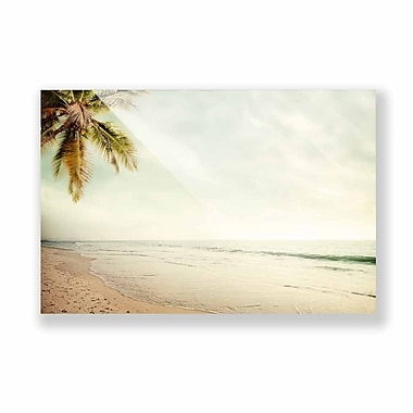 Two Palms Art Bazaar 'Vacation Mode On' Wall Art on Plaque; 38.6'' H x 58'' W x 1'' D