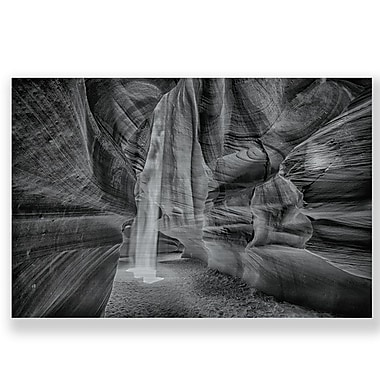 Two Palms Art Bazaar 'Caves and Canyons' Wall Art on Plaque; 30'' H x 45'' W x 1'' D