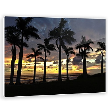 Two Palms Art Bazaar 'Ocean Grown' by Samba to the Sea Wall Art on Plaque; 30'' H x 37.5'' W x 1'' D