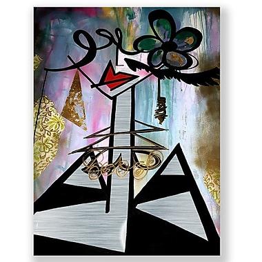 Two Palms Art Bazaar 'De La Cruz' by Jenny Perez Graphic Art on Plaque; 51.47'' H x 38.6'' W x 1'' D