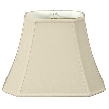RoyalDesigns Timeless 20'' Linen Bell Lamp Shade; Eggshell