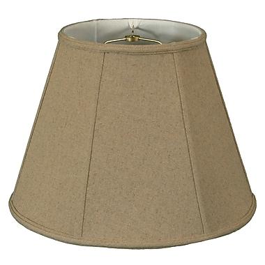 RoyalDesigns Timeless 12'' Linen Empire Lamp Shade; Cream/Off White