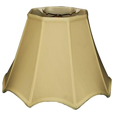 RoyalDesigns Timeless 10'' Silk Empire Lamp Shade; Eggshell/Off White