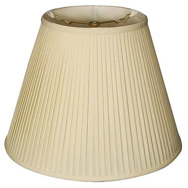 RoyalDesigns Timeless 12'' Silk Empire Lamp Shade; Eggshell/Off White