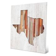 Click Wall Art 'Texas Lumber' Wall Art; 24'' H x 20'' W x 0.04'' D