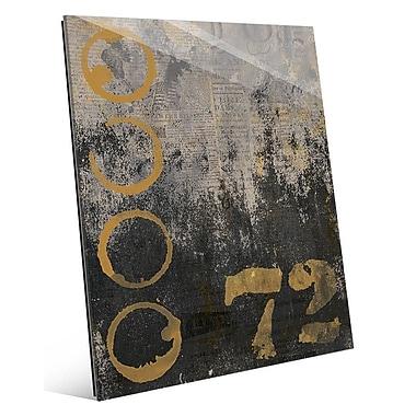Click Wall Art 'Urban 72' Graphic Art; 24'' H x 20'' W x 1'' D