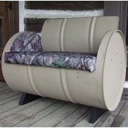 Drum Works Furniture High Tech Concealment True Timber Camo Armchair