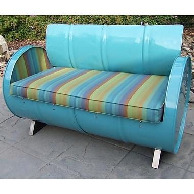 Drum Works Furniture Astoria Lagoon Loveseat