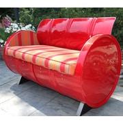 Drum Works Furniture Bravada Salsa Loveseat w/ Cushion