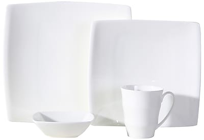 Auratic Chinese Chao Bone China 16 Piece Dinnerware Set, Service for 4 WYF078279229142