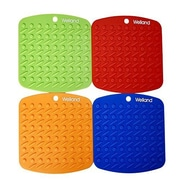 Welland Industries LLC Silicone Potholder (Set of 4)