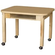 Wood Designs Laminate 20'' Open Front Desk
