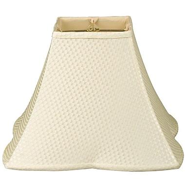 RoyalDesigns Timeless 10'' Silk/Shantung Bell Lamp Shade