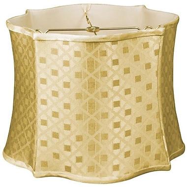 RoyalDesigns Timeless 13'' Silk/Shantung Novelty Lamp Shade